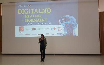 Tehniški dan -> digitalno = realno = normalno